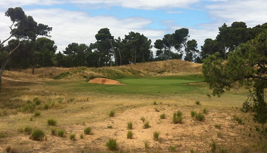 Royal Adelaide Golf 11th hole