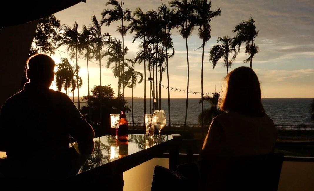 Sunset at beer o'clock
