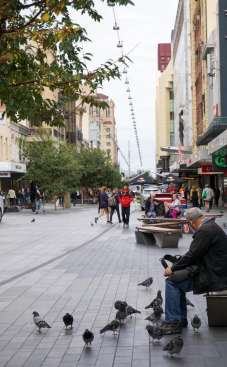 Adelaide's Rundle Mall