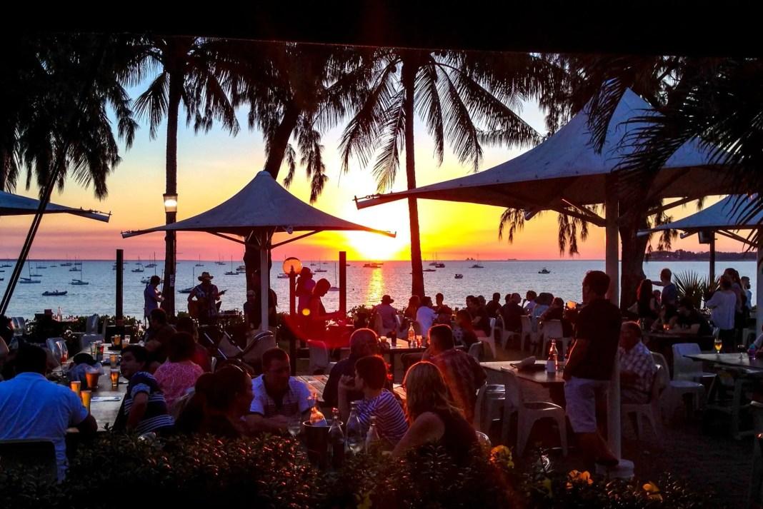 Sunsets at the Darwin Sailing Club