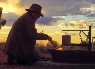 Australian campfire