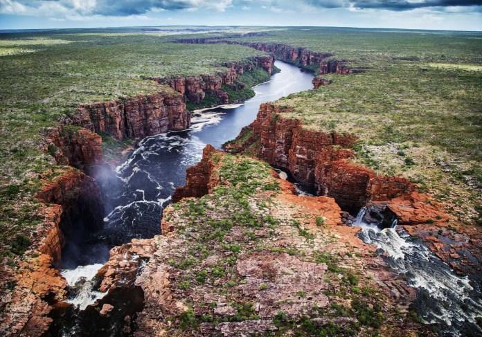 King George Falls - the Kimberleys