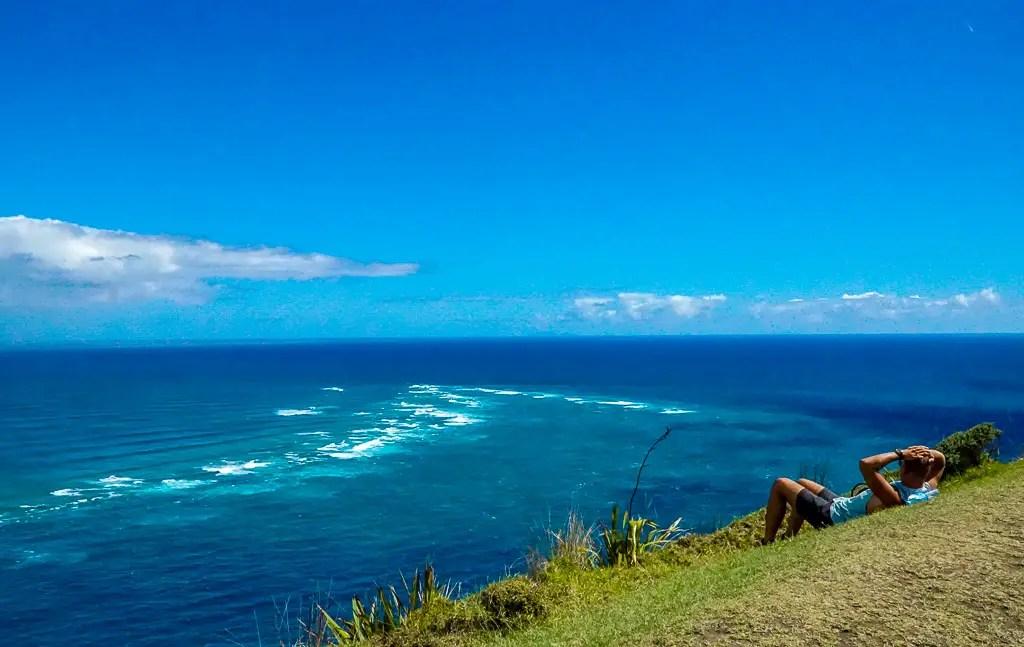 Cape Reinga - where the oceans meet