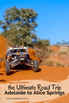 Adelaide to Alice Springs