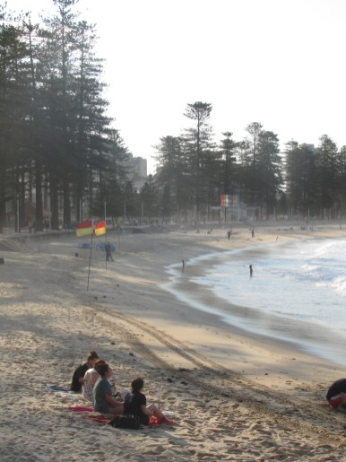 manly beach afternoon