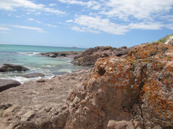 Another shot of the rock pools