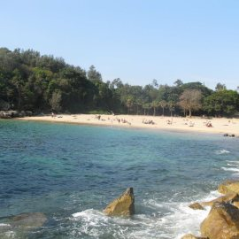Beautiful Shelly Beach in Manly