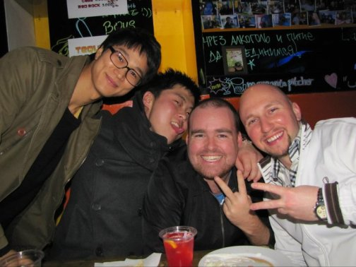 Koreans and foreigners in Gwangju