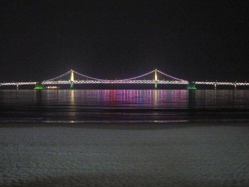 Gwangan Bridge in Busan, South Korea