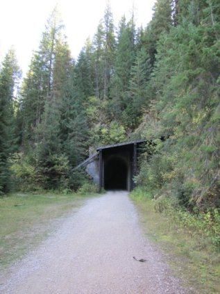 route of the hiawatha tunnel