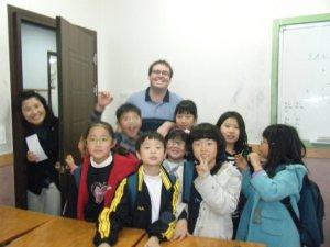 ESL classroom Korea