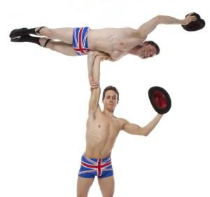English gents acrobats