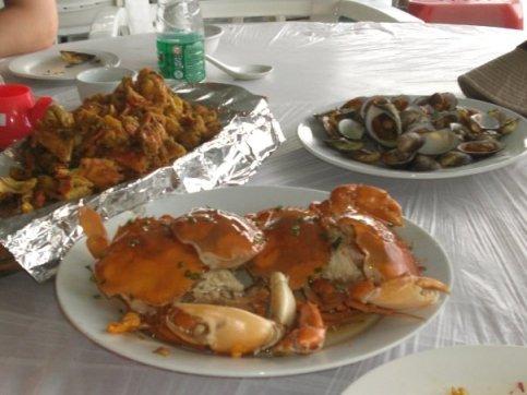 Seafood in Hainan