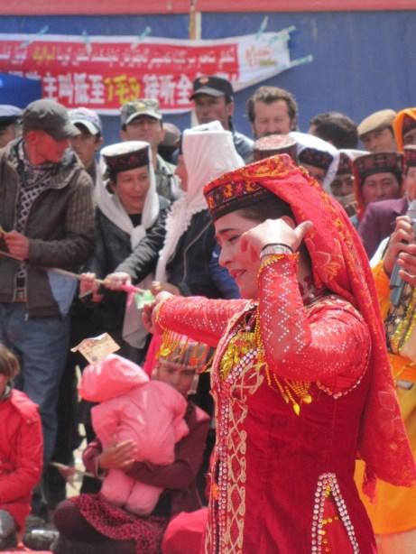 Kyrgyzstan dancer