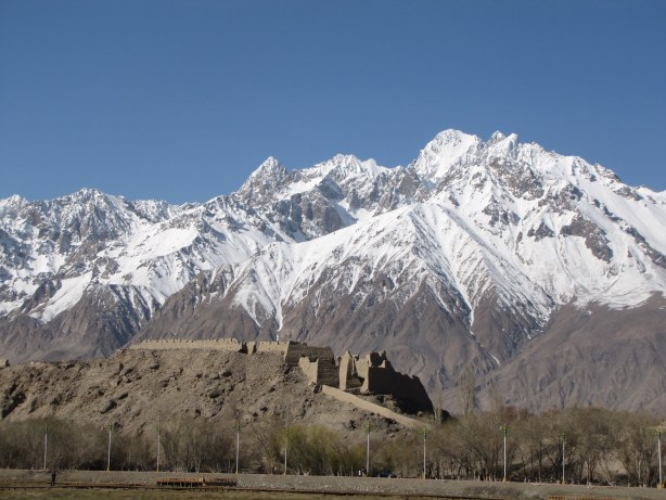 Mountains behind the Stone Fort