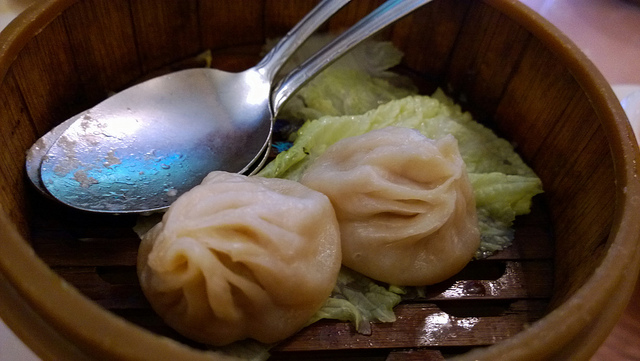 xiao long bao soup dumpling