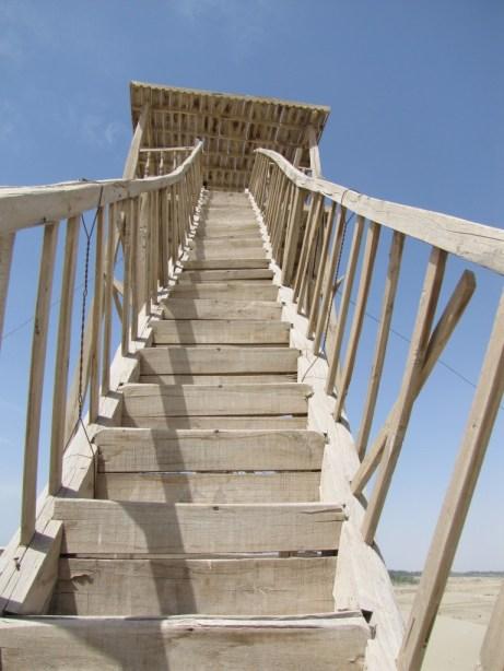 Rickety stairs