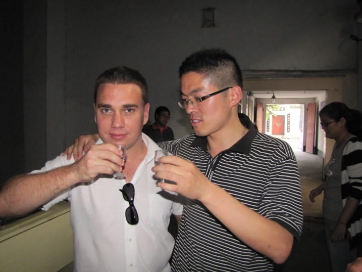 Drinking baijiu