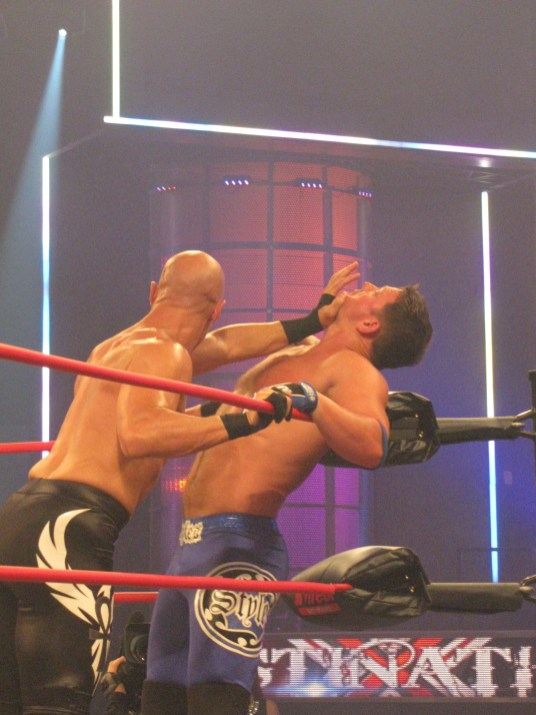 Christopher Daniels and AJ Styles