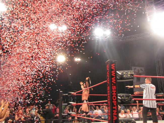 Austin Aries wins