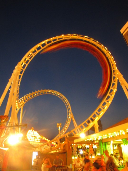 Rollercoaster at Ocean City, MD