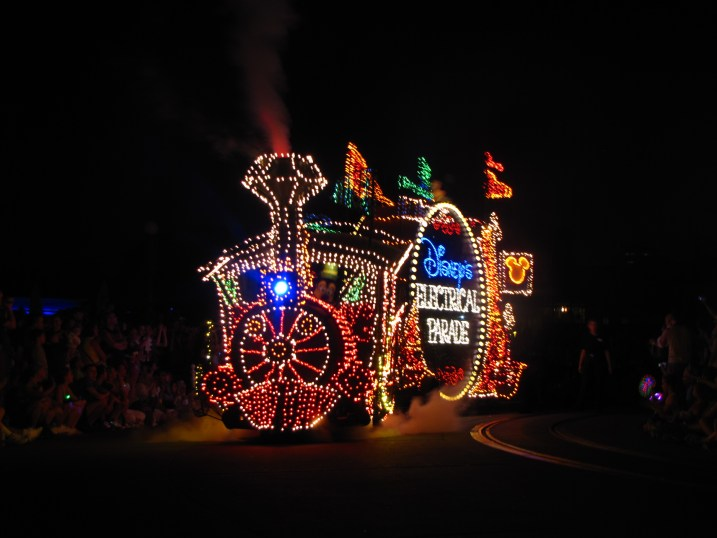 Electric Parade, Disney World