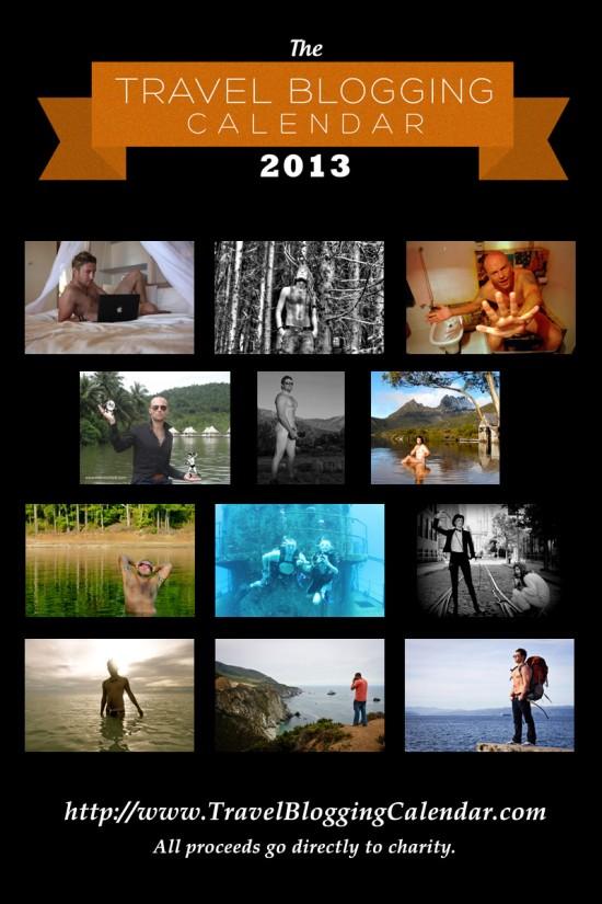 Men of Travel Blogging Calendar