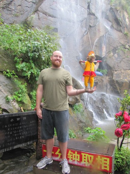 Hanging out with the Monkey King on HuaGuo Mountain