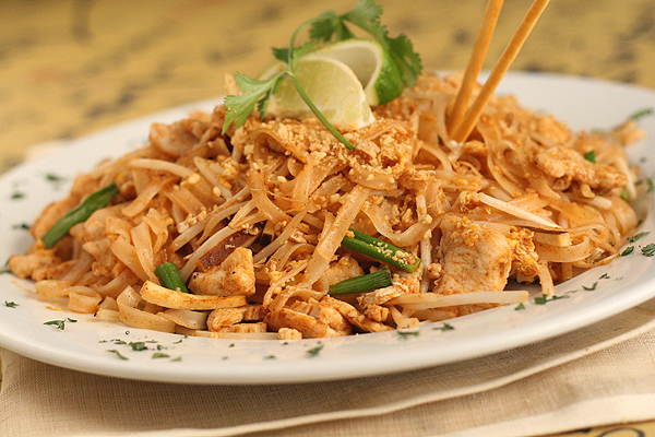Pad Thai. A gift from the Gods.
