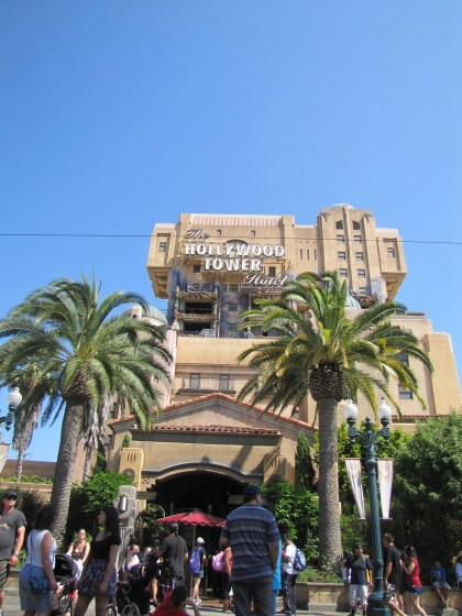 Not to be confused with the toe-curling, hair-whitening coaster in Australia - the Tower of Terror is still pretty scary fun.