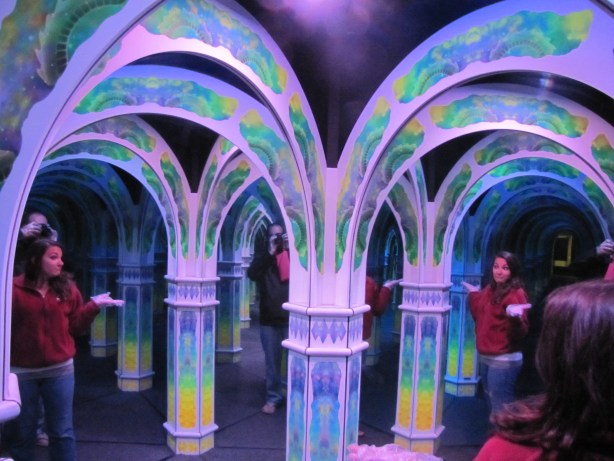 A little lost in Magowan's Infinite Mirror Maze