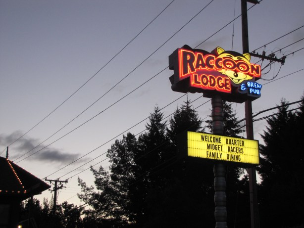 The Raccoon Lodge is fast becoming my favourite Portland watering hole.