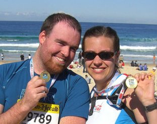 At my healthiest, I ran three times a week and finished the City 2 Surf in under ninety minutes. So long ago!