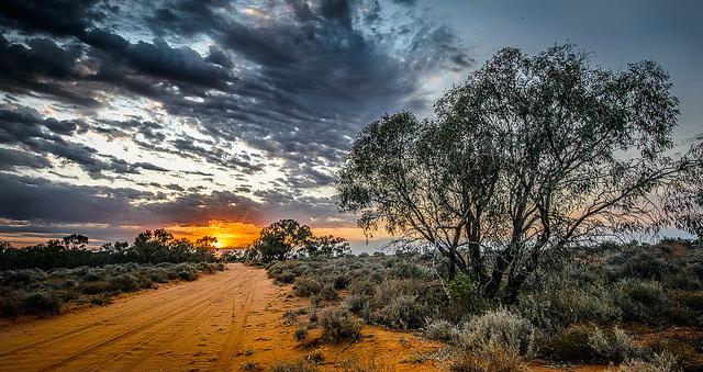 The serenity of an outback sunrise is something you won't find in Sydney.
