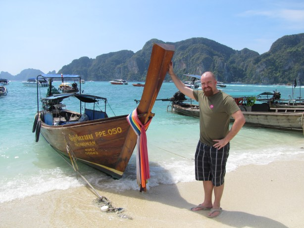 Just hanging out at Koh Phi Phi in 2013.