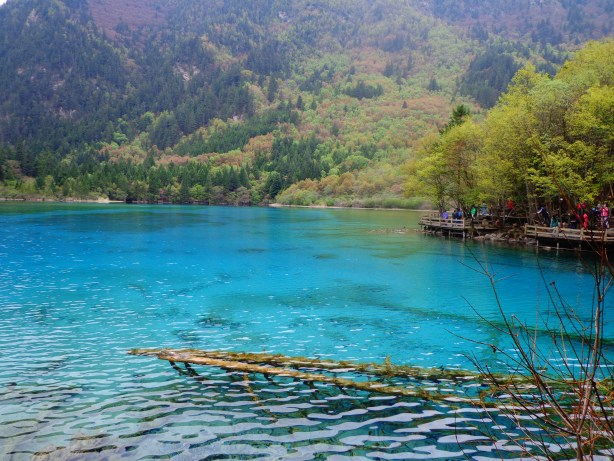 My favourite landscape in China: Jiuzhaigou.