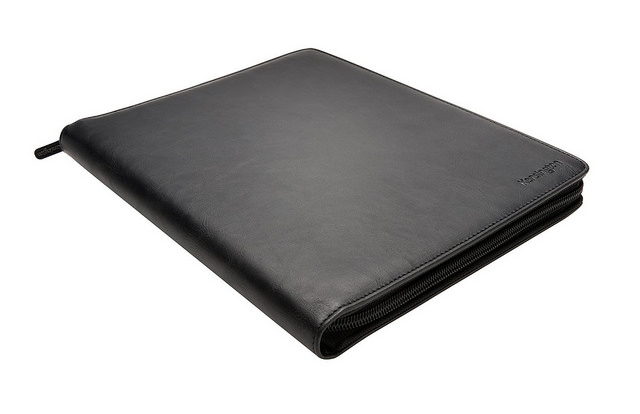 Bodyguards where black suits and black shades. Why shouldn't your iPad look that cool?