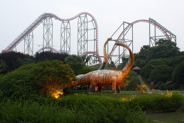 The Dinoconda is one of the top five coasters I've had the pleasure of riding.