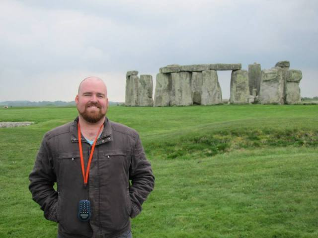 I wouldn't have been able to truly appreciate Stone Henge had somebody been nattering away at me.