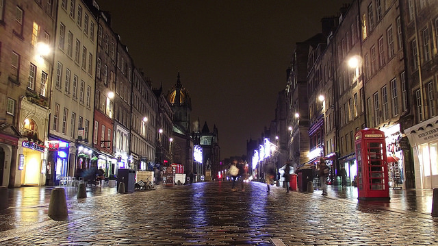 The Royal Mile just breathes with the city's history. I adored it. Photo by byronv2