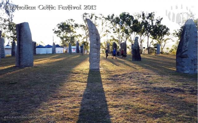 The Australian Celtic Festival takes place by the picturesque Australian Standing Stones Monument in Glen Innes. Photo courtesy of Australian Celtic Festival.