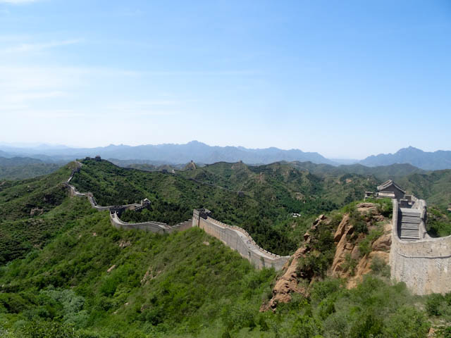 My first real look at the Great Wall took my breath away.