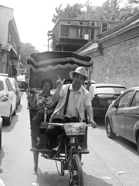 Friendly rickshaw drivers ride by, constantly offering to take the leg work out of your exploration.