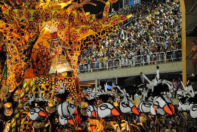 rio carnival float