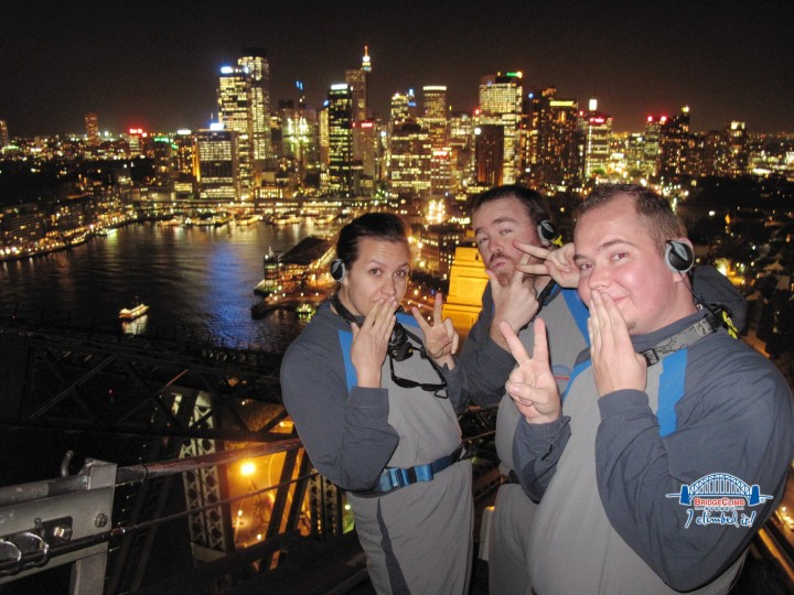Standing atop the Sydney Harbour Bridge is still one of my favourite travel memories.