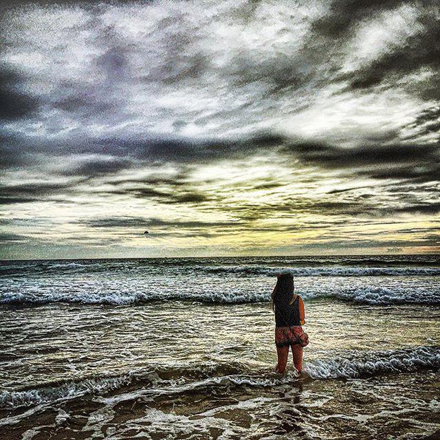 A rare quiet moment on Karon Beach.