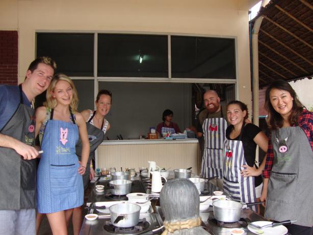 Thai cooking class in Chiang Mai, Thailand