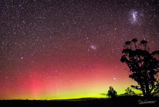 aurora australis southern lights