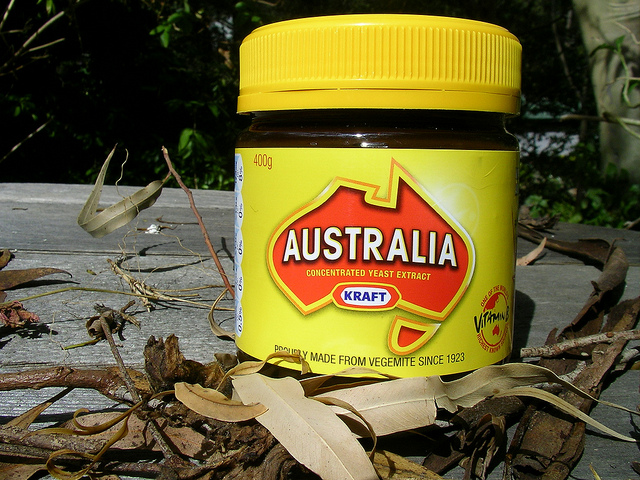 aussie bucket list vegemite