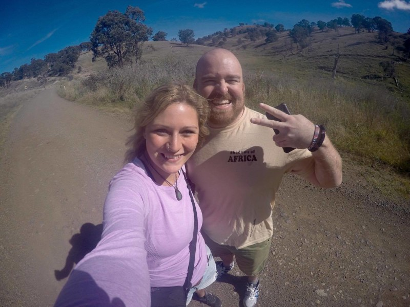 gopro selfie new england australia
